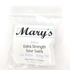 Marys Extra Strength Indica Sour Swirls