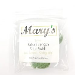 Marys Extra Strength Sativa Sour Swirls