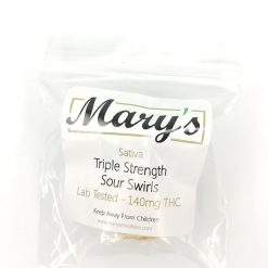 Marys Triple Strength Sativa Sour Swirls
