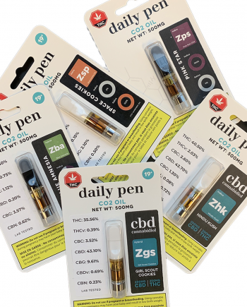 Daily Pen : CO2 Oil Cartridge
