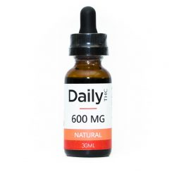 Daily Tincture - Full Spectrum THC: Natural