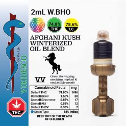 VIRIDESCO - Winterized BHO Vaping Oil