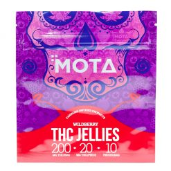 Mota - THC Wild Berry Jellies (10x20mg)