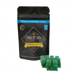 PNE Full Spectrum Gummies - SATIVA/Berry Blast - 150mg THC