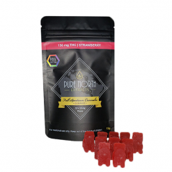 PNE Full Spectrum Gummies - SATIVA/Strawberry - 150mg THC