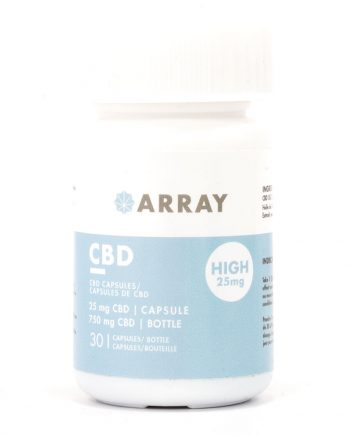 Array Bioceuticals CBD Capsules