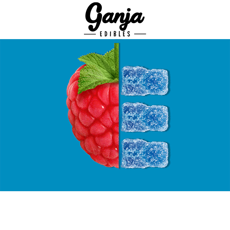 Ganja Bears Sour Gummies - 10 x 15mg THC (150mg Lab Tested)