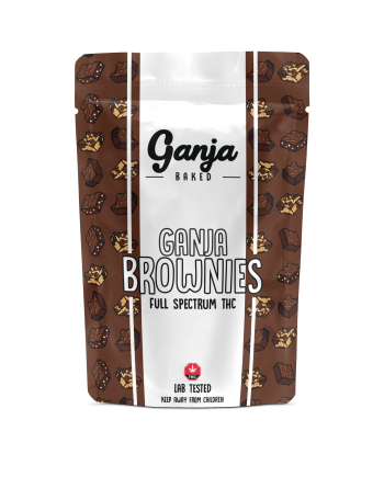 Ganja Baked – Marble Brownie 600mg