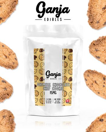 Ganja Baked - Oatmeal Chocolate Chip Cookie - 15mg