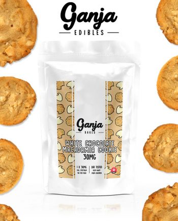 Ganja Baked - White Chocolate Macadamia Cookie - 30mg