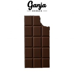 Ganja Baked - Dark Chocolate Almond 210mg THC