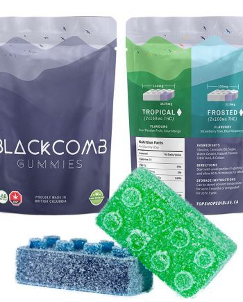 Blackcomb Frosted Gummies – 2 x 100mg THC