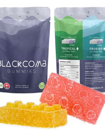 Blackcomb Tropical Gummies – 2 x 150mg THC