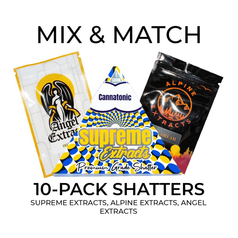 10 Pack Shatters Mix and Match