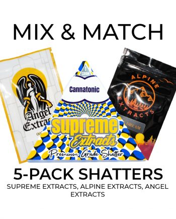 5 Pack Shatters Mix and Match