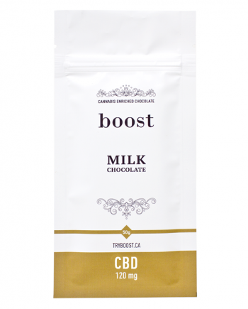 Boost Edibles - CBD Milk Chocolate