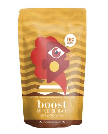 Boost Milk Chocolate Pack - THC 200mg