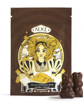 Alice Mushroom Milk Chocolate - 2500mg