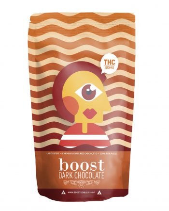 Boost Dark Chocolate Pack - THC 200mg