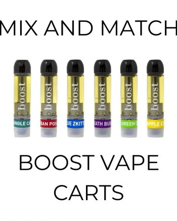 5-Pack Boost Vape Cartridges - Mix and Match