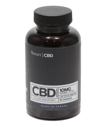 Smart CBD - Full Spectrum CBD Capsules (500-750mg)