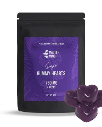 Mastermind - Gummy Hearts (4 x 750mg)