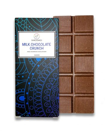 Shroomies - Magic Mushroom Chocolate Bar - Milk Chocolate Crunch 5000mg
