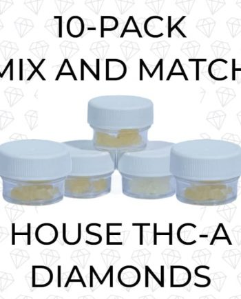 10-Pack House THCA Diamonds Mix and Match