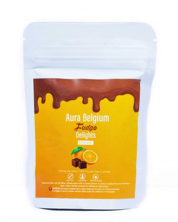 Aura Belgium Chocolate Fudge  - 200mg