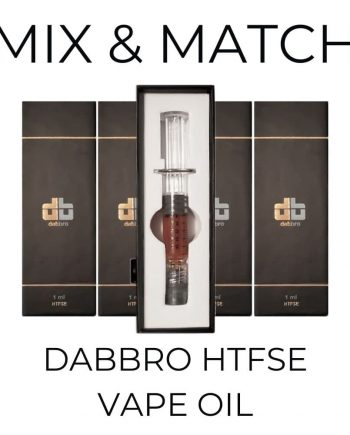 5-Pack Dabbro HTFSE Syringe - Mix and Match