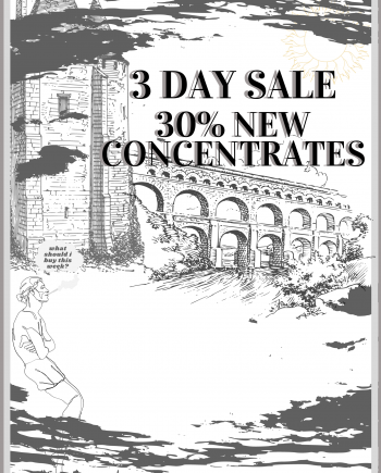 3-DAY 30% OFF NEW CONCENTRATES PROMO