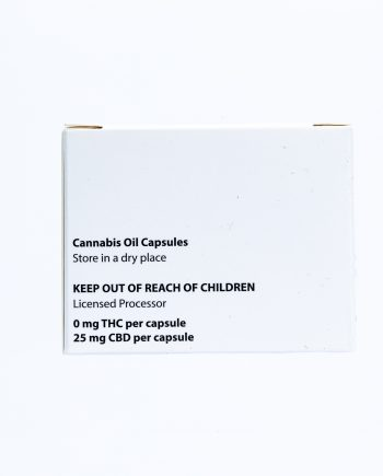 Natures Pharmacy : CBD Oil Capsules 10x25mg