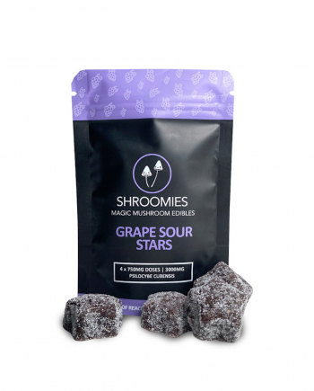Shroomies - Grape Sour Stars (3000mg)