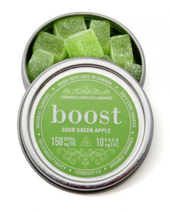 Boost Gummies 150mg THC (15x10mg)