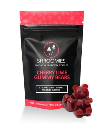 Shroomies - Cherry Lime Gummy Bears (1000mg)