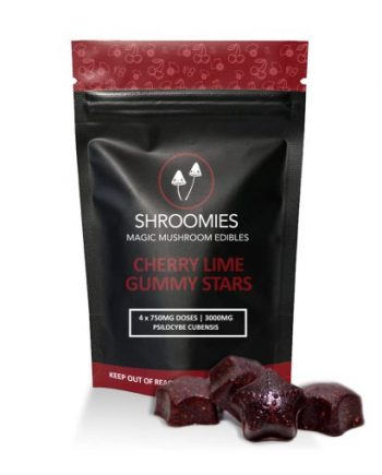 Shroomies - Cherry Lime Gummy Stars (3000mg)