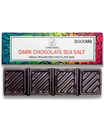 Shroomies - Dark Chocolate Sea Salt Chocolate Bar (3000mg)