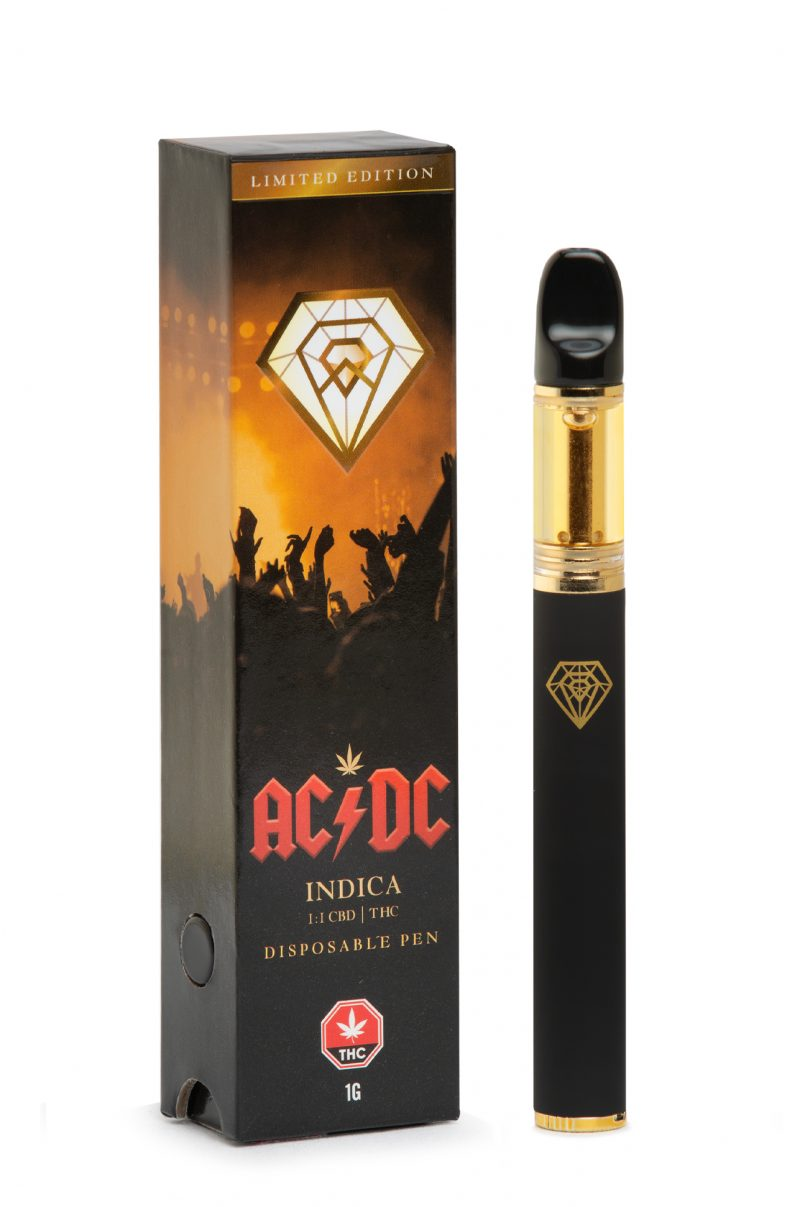 Limited Edition Diamond Concentrates : Disposable Distillate Pen
