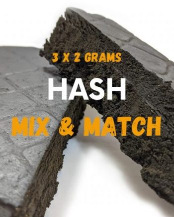 Assorted Hash - 6 Grams Mix & Match